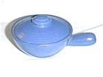 Blue Pottery Casserole