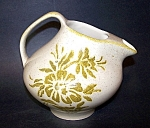 Pitcher, Damask Pattern, Red Wing Potteries