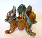 Cornucopia Vase 3 Lilys