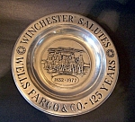 Tray, Commemorative Winchester Salutes Wells Fargo