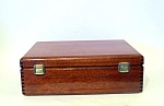 Cigar Box, Redwood, Lacquered