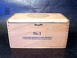 Wood Cigar Box England