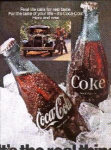 Ad Vintage For Coca Cola