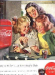 Old Coca Cola Ad From Saturday Evening Post