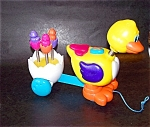 Battery Operated Duck Pull Toy