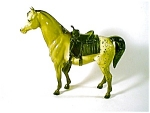 Breyer Horse With Saddle