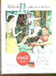 1950 Coca Cola Ad Sheet
