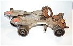 Winchester Vintage Metal Roller Skates,