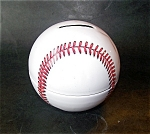 Metal Baseball Still Bank