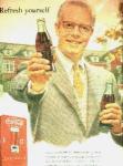 1950's Coca Cola Ad Sheet