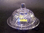 Childs Crystal Butterdish