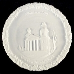 Fenton Christmas Plate, The Two-horned Church