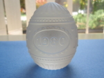 Goebel Annual Crystal Egg 1980 With Box