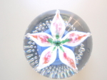 Wheaton Village Flower Paperweight