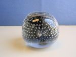 Smoky Glass Paperweight By Riekes Crisa (Italy)