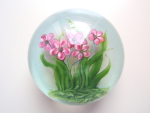 David Salazar Bouquet Paperweight 1983
