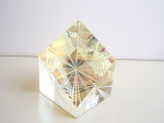 James Shaw Cerium Glass Optic Paperweight