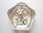 Paul Stankard Desert Flower Paperweight