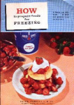 1961 Cookbook - How To Prepare For Freezing