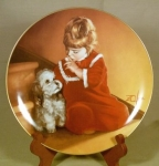 Donald Zolan Plate, Christmas Secret