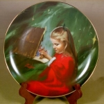 Donald Zolan Plate, Laurie And The Creche