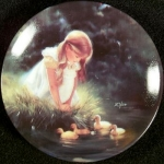 Zolan Miniature Plate, Golden Moment