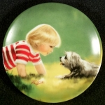 Zolan Miniature Plate, Making Friends
