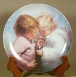 Donald Zolan Plate - Tiny Treasures