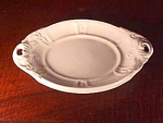 T. R. Boote Staffordshire White Ironstone Sauce Tureen Underplate, Atlantic Shape