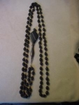 Victorian Lorgnette And Jet Bead Chain