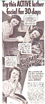 Barbara Stanwyck - Lux Soap Ad