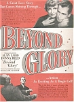Alan Ladd / Donna Reed Beyond Glory Ad