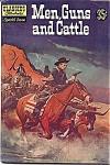 Classics Illustrated Comic Men, Guns And Cattle