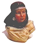 Native American Woman Figurine