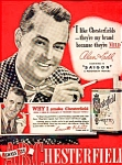 Alan Ladd For Chesterfield Cig. Adv