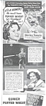 1938 Shirley Temple - Quaker Puffed Wheat Ad