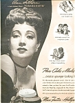 Ann Suthern - Max Factor Make-up Ad Sheet
