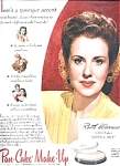 Ruth Warwick - Max Factor Make-up Ad