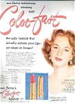 Piper Laurie For Max Factor Make-up
