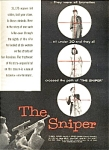 1952 Ad The Sniper Movie - Menjou, Franz