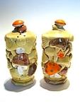 Vintage Mushroom Salt & Pepper Shaker Set