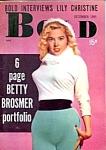 Betty Brosmer 'bold' Vintage Magazine 1955
