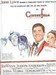 Jerry Lewis, Ed Wynn - Cinderfella Ad Sheet