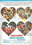 Sweet Charity - Shirley Mac Laine Ad Sheet