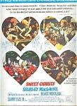 Sweet Charity - Shirley Mac Laine Ad Sheet