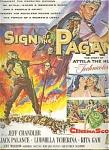1955 Ad - Sign Of The Pagan - Chandler, Palan