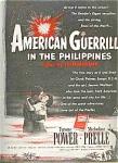 Tyrone Power, Prelle - American Guerrilla Ad