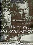 Cotten, Byington, Walk Softly, Stranger Ad