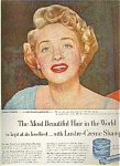 Jane Powell For Lustre Creme Shampoo Ad