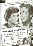 1946 Mcguire, Madison, Mitchum - Movie Ad